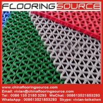 Buy cheap PVC S Mesh Floor Mat Vinyl Z Web anti-slip Floor Mat scarpe dirt and drain water product