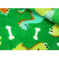 Buy cheap Farland Comfortable Coral Fleece Fabric Plaid For Baby Clothing product