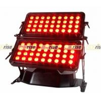 Buy cheap IP65 Outdoor Wall Washer Led Lighting , 72x8w RGBW 4 / 8 Channels Dmx Rgb Led Flood Lights product