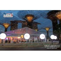Buy cheap 20m×25m Big Clear party tent/marquee/canopy/structure with PVC Wall from Wholesalers