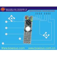 Buy cheap Electrical Sealed Tactile Membrane Switch For Fan , LED Compents product