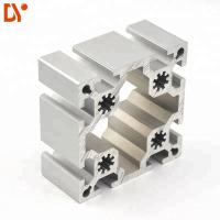 Buy cheap Customized Aluminium Extruded Sections 100100 Square T Slot Aluminum Extrusion Profiles product
