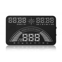 Quality Universal Vehicle Heads Up Dash Display , 5.8 Inch Aftermarket Hud Display PC + ABS Material for sale