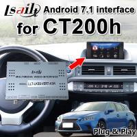 Buy cheap Android 7.1 Multimedia Video Interface for Lexus CT200 GPS Navigation Box from wholesalers