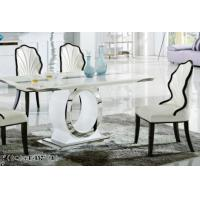 Buy cheap luxury modern rectangle marble dining room table furniture product