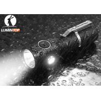 Outdoor Rechargeable LED Flashlight With Cree Head Light / Side Light