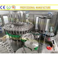 China SUS304 Juice Bottling Plant 12 Capping Heads Hot Juice Filling Machine on sale