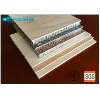 Buy cheap Customized Stone Facing Honeycomb Panel Of Wear-Resistant High-grade Furniture Decoration Materials product
