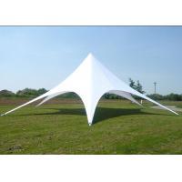 Buy cheap White Star Shaped Tent , Eco - Friendly Large Sun Shade Tent 76 X 2mm from Wholesalers