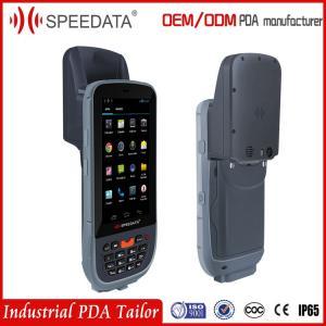 Buy cheap Long Range Handheld Rfid Reader , Bluetooth UHF Handheld Reader 13.56khz product