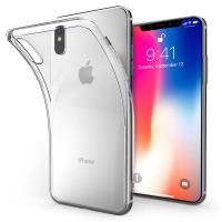 Buy cheap For Iphone X 0.3 mm Slim Phone Case Transparent Silicon Soft TPU Clear Back Cover product