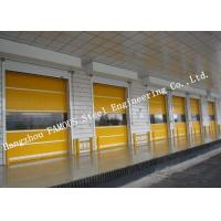 Buy cheap Electrical High Speed Steel Roller Shutter Door PVC Surface For Logistics Center product