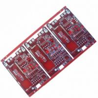 Buy cheap Red solder mask 6 layers circuit board product