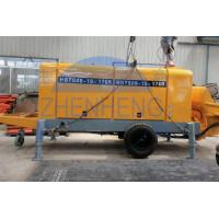Buy cheap Rubber Hose Diesel Concrete Pump Equipment 360l Oil Tank Capacity Custom Color product