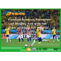 Buy cheap Rgb Football Stadium Led Display Outdoor , P10 Led Advertising Display product