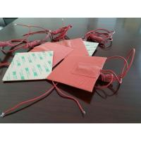 Buy cheap Red Color Close Cell Silicone Heater Pad , Waterproof Non-Toxic Silicone Mug With High Quality,220-240V product