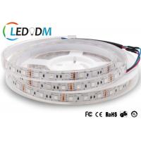 China 3M Tape Flexible LED Strip Lights Low Voltage DC12V 24V 14.4W/M SMD 5050 RGB on sale
