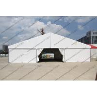 Buy cheap Easy Installed Hajj PVC Event Tent 15 x 15m Portable White Waterproof product