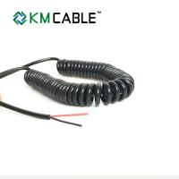 Buy cheap Coil Cord Spiral Flexible Cable AC750 Output Power 21W With Led Light product