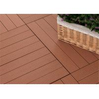 Buy cheap Moisture - Proof Wood Plastic Composite Decking with Wood Grain Surface from wholesalers