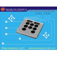 Buy cheap Waterproof Texture Push Button Membrane Switch Keypad With 3M9448 Adhesive product
