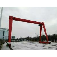 Buy cheap Small Windward Surface 18T Electric Hoist Gantry Crane For Sale product