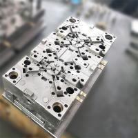 Buy cheap 2 Cavity Plastic Injection Moulding Die Makers For PP +10%GF Housing Stem product