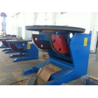 Buy cheap Support Capacity 3000Kg Welding Positioner Schneider VFD Control Revolving Speed product