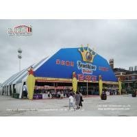 Buy cheap 40m Width 50m Length Polygon Tent With Colorful Roof For Outdoor Events product