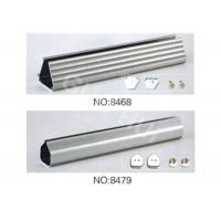 Quality Sheer Curtain Aluminum Extruded Profiles , Powder Coating Extruded Aluminium Sections for sale