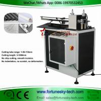Buy cheap Automatic computerized circular cutting machine PVC plastic tube free chip cutting tool without burrs extrusion ring cut product