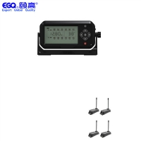 China Real Time 4 Wheels 6 Tire Pressure Monitoring System on sale