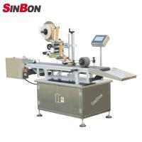 Buy cheap Automatic page separating labeling machine for pouch labeling machine for pouch product