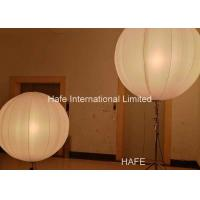 Buy cheap 1.6 M Inflatable Lighting Decoration , Led Inflatable Balls 2x650W Tungsten Lamp product