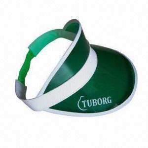 Buy cheap Promotional PVC Sun-visor product