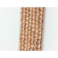 Buy cheap High Power 16 Inch Magnetic Natural Hematite Beads Rose Gold AAA Grade product