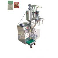 Buy cheap 3 / 4 Side Sealing Sauce Pouch Packing Machine For Tomato Sauce Fruit Jam product