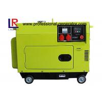 Buy cheap Top Mounted Fuel Tank Diesel Generator 5KW Portable Low Operating Temperature product
