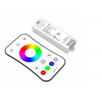 China 2.4G RF RGB LED Strip Controller Smooth Dimming For Classy Set 288 Watts on sale
