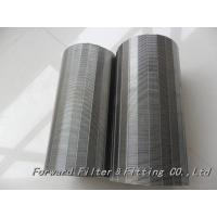 Buy cheap Johansson Filter / Wedge Net Stainless Steel / Filter Element / Water Treatment Equipment product