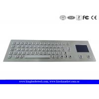 China Industrial Keyboard With Touchpad And 64 Keys IP65 Rated For Kiosk on sale