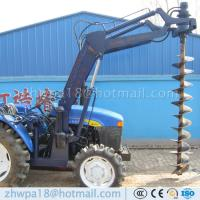 Buy cheap Best price 4 wheel tractor mounted hole digger Tractor with Auger product