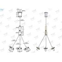 Buy cheap Three Legs Plant Pot Wire Suspension Kit , Adjustable Flower Pot Hanging Kit product