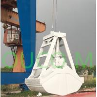 Buy cheap White Wireless Radio Remote Control Grab Bucket Work Together With Crane product