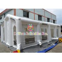 China Nylon Fabric Marquee Inflatable Wedding Tent For Advertising Photo Booth Tent on sale