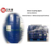 Buy cheap Light Yellow 3 - Methacryloxypropyltrimethoxy Silane Coupling Agent CAS 2530 - 85 - 0 in water paint or cable product