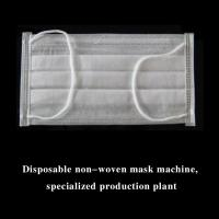 Buy cheap Fully Automatic 3 Layer Inner Loop Medical Face Mask Machine (1+2) product