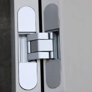 Buy cheap zinc alloy flush doors 3D adjustable concealed hinge 60kg product