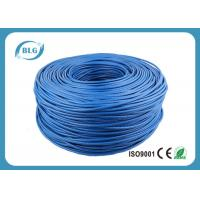 Buy cheap Networking Cat 6 Network Cable 1000 FT 4 Pairs Unshield BC / CCA Customized Color product