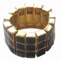 Buy cheap Small faceted with enamel in stretch ring product